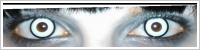 ColourVUE Crazy Lens / White zombie -